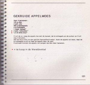 (h)eerlijke appelmoesrecept, uit het Hasseltse Wereldwinkelkookboek
