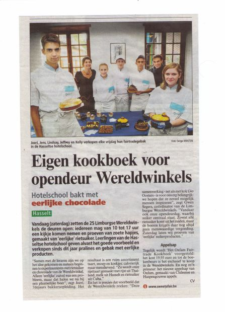 artikel Belang van Limburg d.d. 10/10/2009