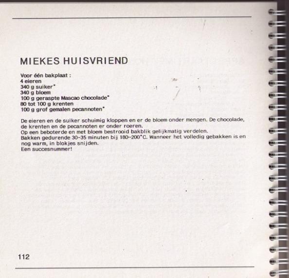 MIEKES HUISVRIEND - KLIK VOOR EEN VERGROOTTE WEERGAVE