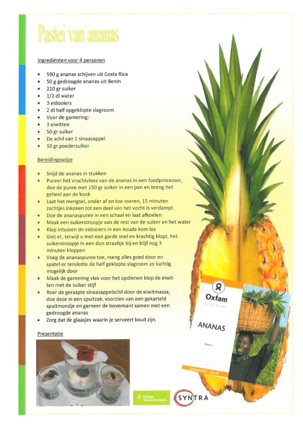 pastei van ananas