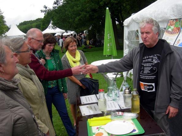 Jan van de trekkersgroep FairTradeGemeente geeft zijn recept prijs