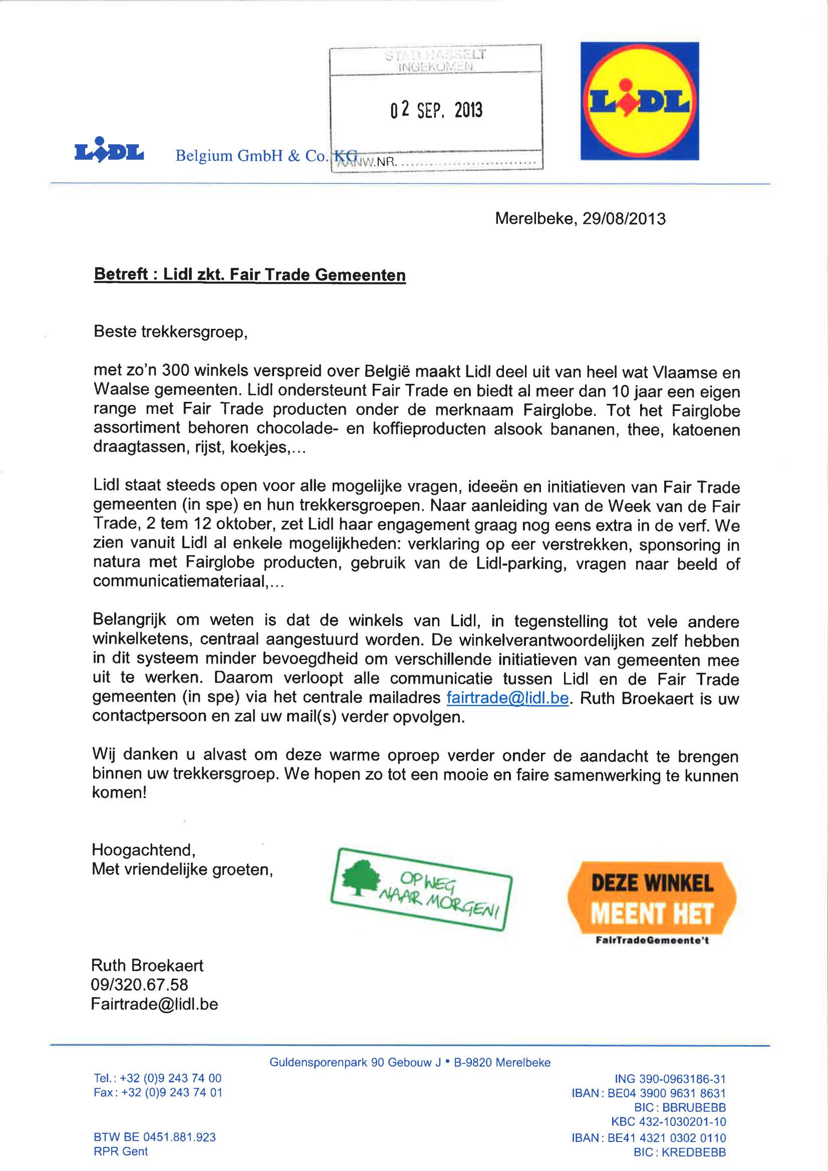 commerciele brief voorbeeld Commerciele Brief Voorbeeld | gantinova