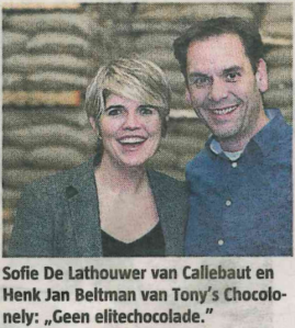 SOFIE en HENK JAN C.Q . BARRY en TONY