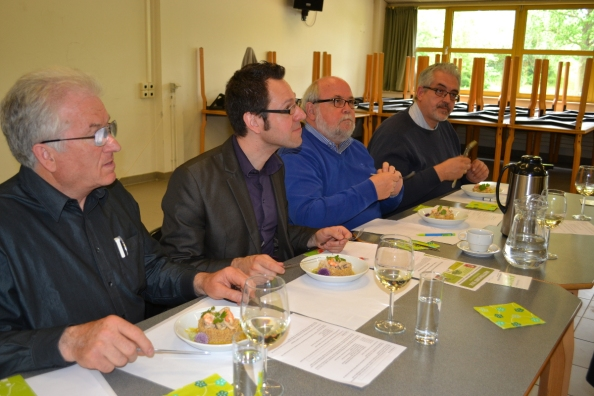 DE JURY: JAN REYSKENS, JOOST VENKEN, RAYMOND POLUS en DIRK JACOBS