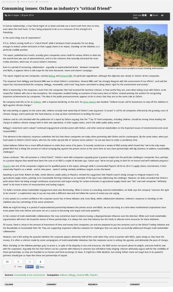 LEZEN? KLIK OP DE PRENT  of DOWNLOAD:  https://fairtradekookboek.files.wordpress.com/2014/08/oxfam-as-industrys-critical-friend.pdf