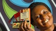 """Evelyn Appiah Kubi vom Kakao-Produzenten """"Kuapa Kokoo"""" aus Ghana"""