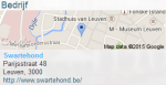 Locatie Swartehond in hartje Leuven