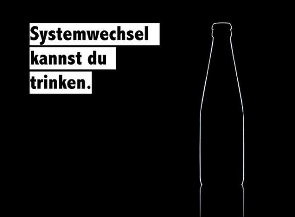 SYSTEEMVERANDERING DE JE KUNT DRINKEN