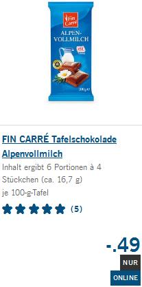 30% Kakaoanteil - 100 gr - 49 CENT