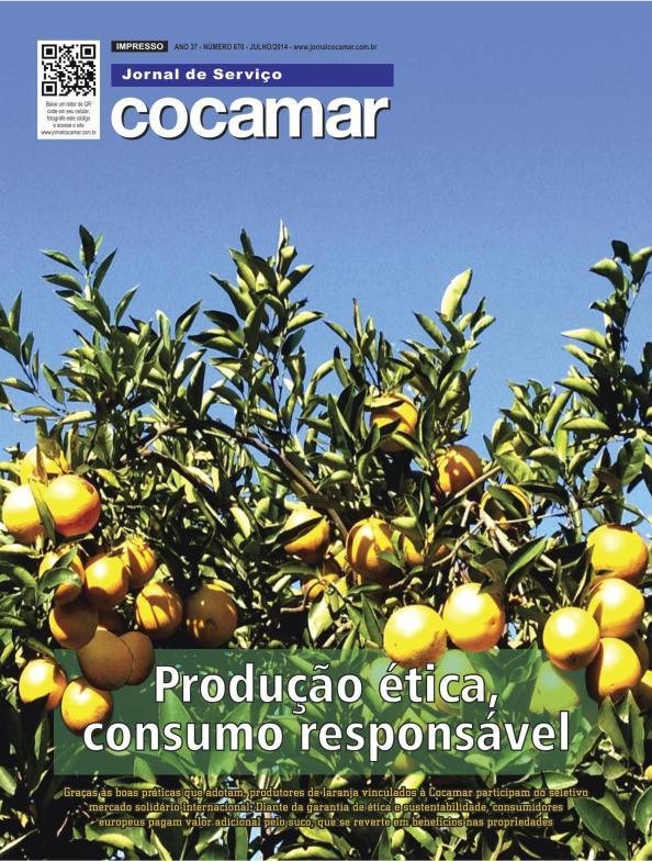 voorpagina Jornal de Serviço Cocamar