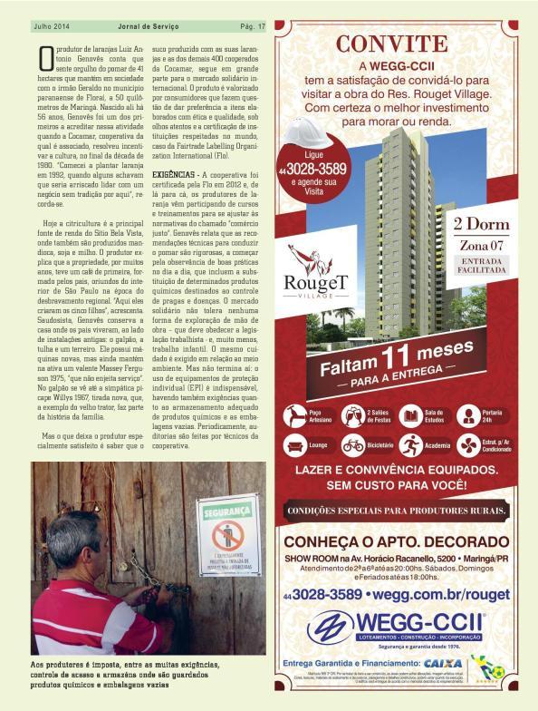 blz 2 artikel Jornal de Serviço Cocamar