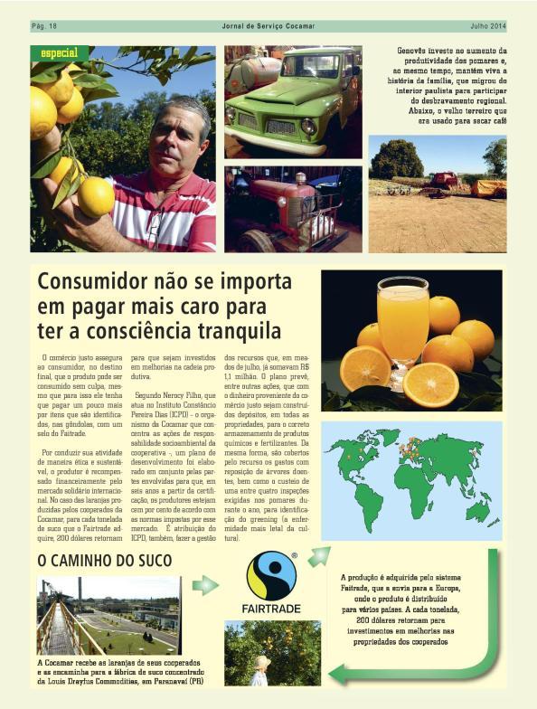 blz 3 artikel Jornal de Serviço Cocamar