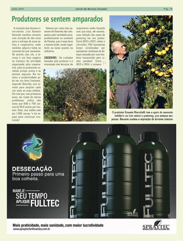 blz 4 artikel Jornal de Serviço Cocamar