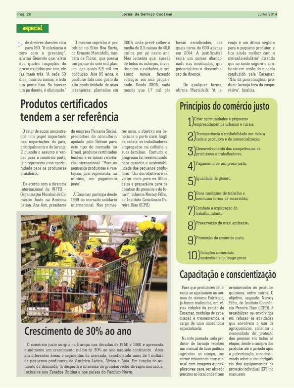 blz 5 artikel Jornal de Serviço Cocamar