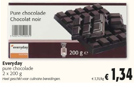 CHOCOLADE EVERYDAY