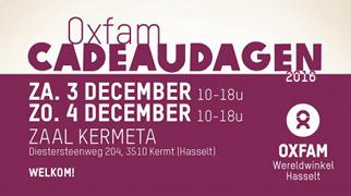 Oxfam Cadeaudagen Hasselt