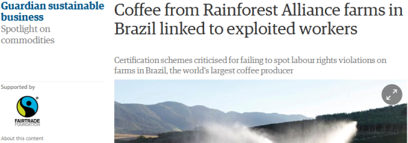 this article is sporting advertisements from the Fairtrade Foundation...