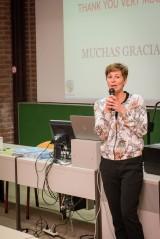 Gwen Segers (regiocoördinator Oxfam-Wereldwinkel Limburg)
